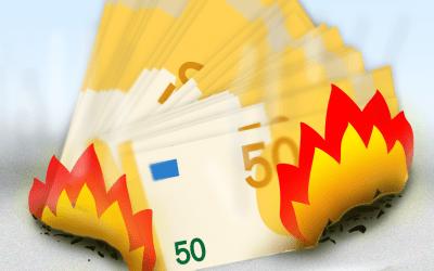 Kosten vermogensbeheer kan uw rendement halveren